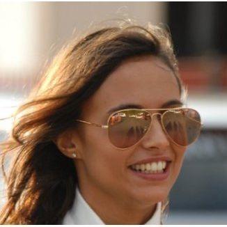 8416f39370227 Óculos De Sol Rayban Aviador Rb3025 Dourado Marrom Espelhado - R ...
