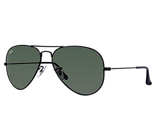 Óculos De Sol Rayban Aviator Rb3025 Clássico Preto Original - R  195,00 em Mercado  Livre fd95002205