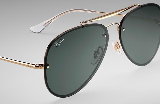 Óculos De Sol Rayban Blaze Rb3584 Aviador Lançamento - R  209,90 em ... de58fc608f