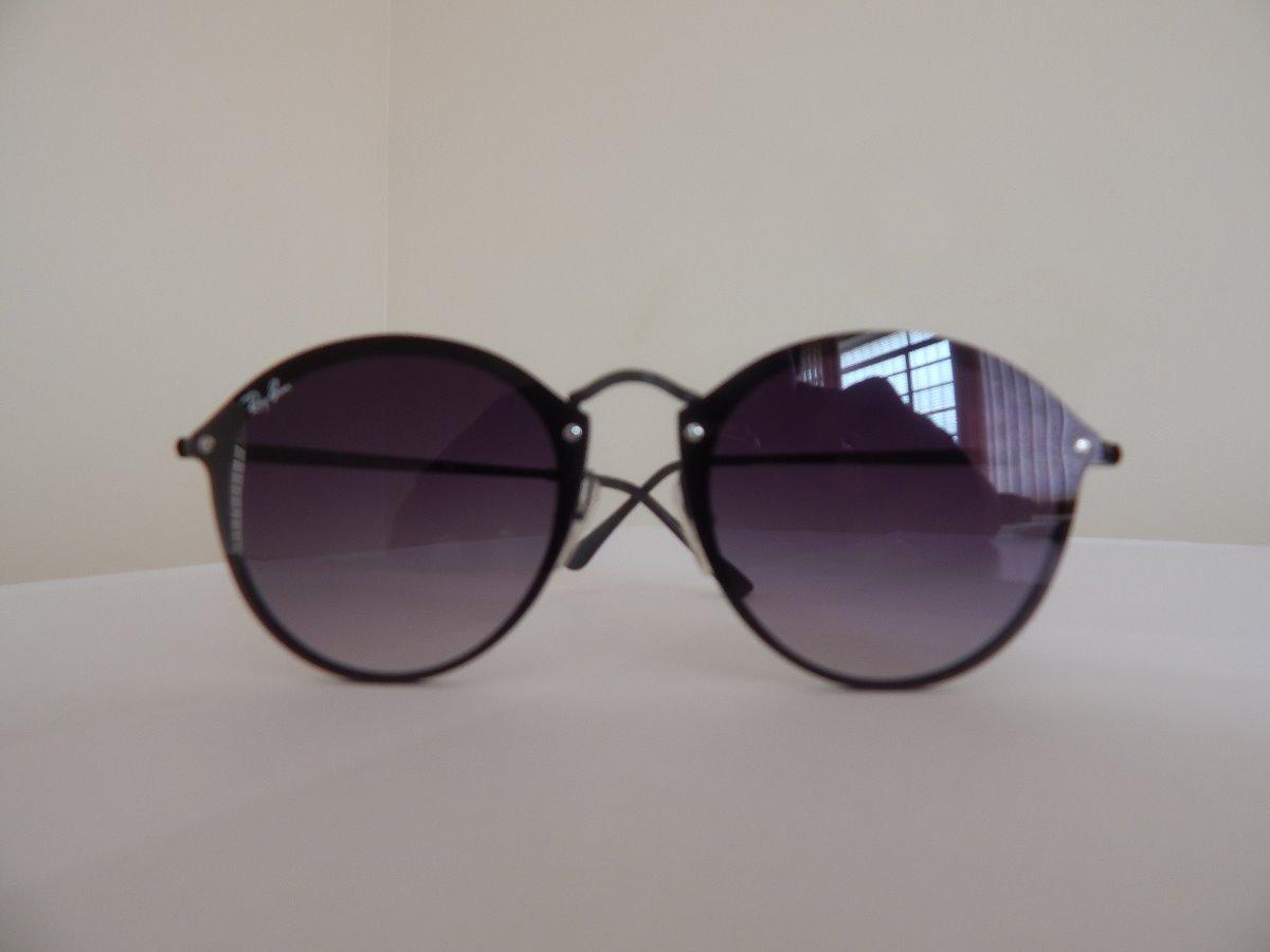 c7cb291907d6e óculos de sol rayban blaze round rb3574 preto - original. Carregando zoom.