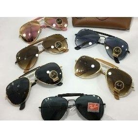 óculos de sol rayban caçador masculino lentes de cristal 0b3373f049