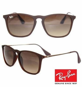 439e52182 Oculos Ray Ban Chris Marrom - Óculos no Mercado Livre Brasil
