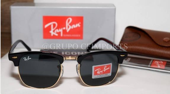 641f2b99406c1 Óculos De Sol Rayban Clubmaster Rb3016 Masculino Feminino - R  120 ...
