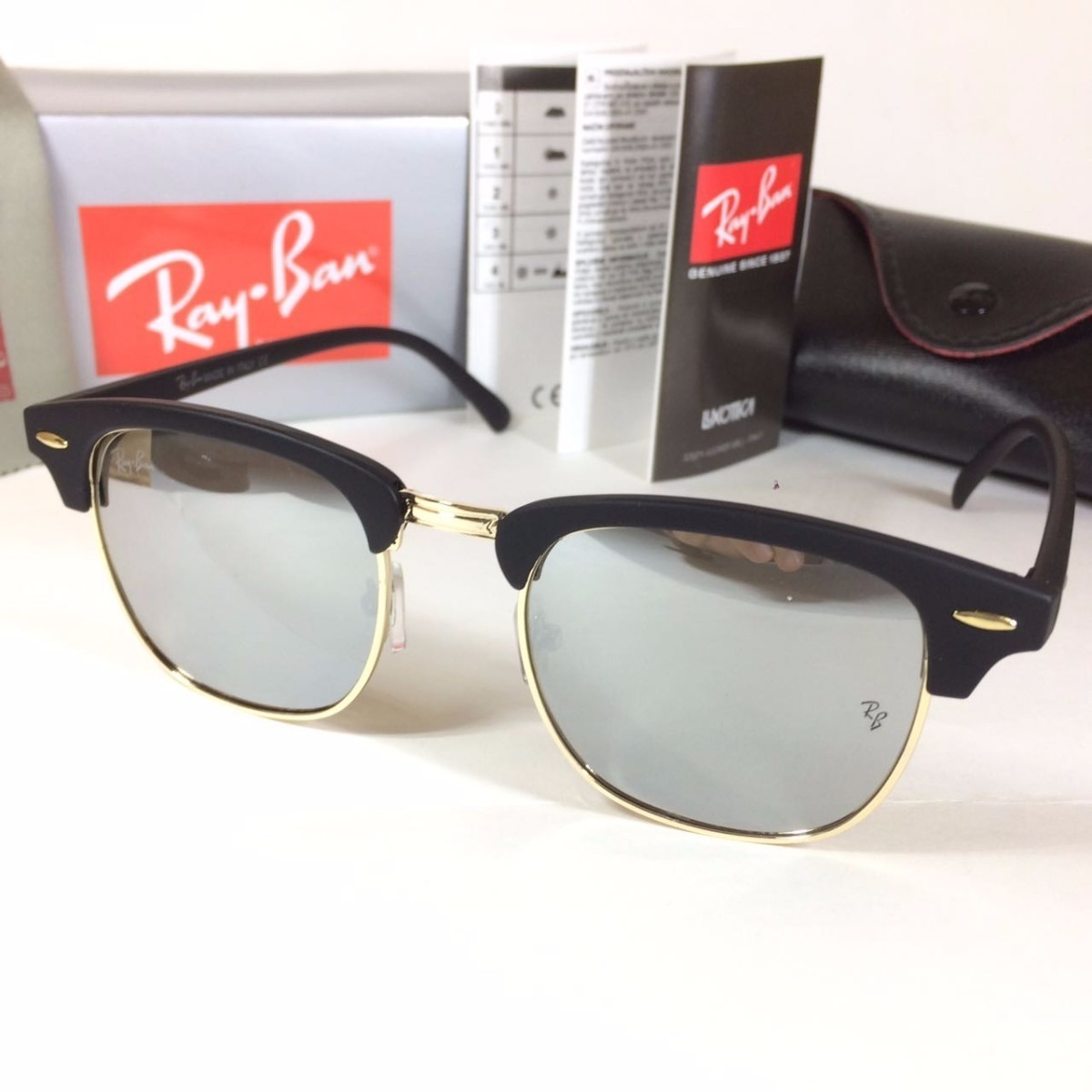 2d4b0f1397174 oculos de sol rayban clubmaster várias cores   envio 24 hs. Carregando zoom.