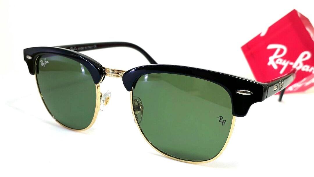 14ffaae58 óculos de sol rayban feminino masculino clubmaster quadrado. Carregando zoom .