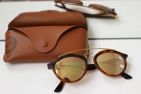 b085e7e07 Oculos Ray Ban Feminino Marrom De Sol - Óculos, Usado no Mercado Livre  Brasil