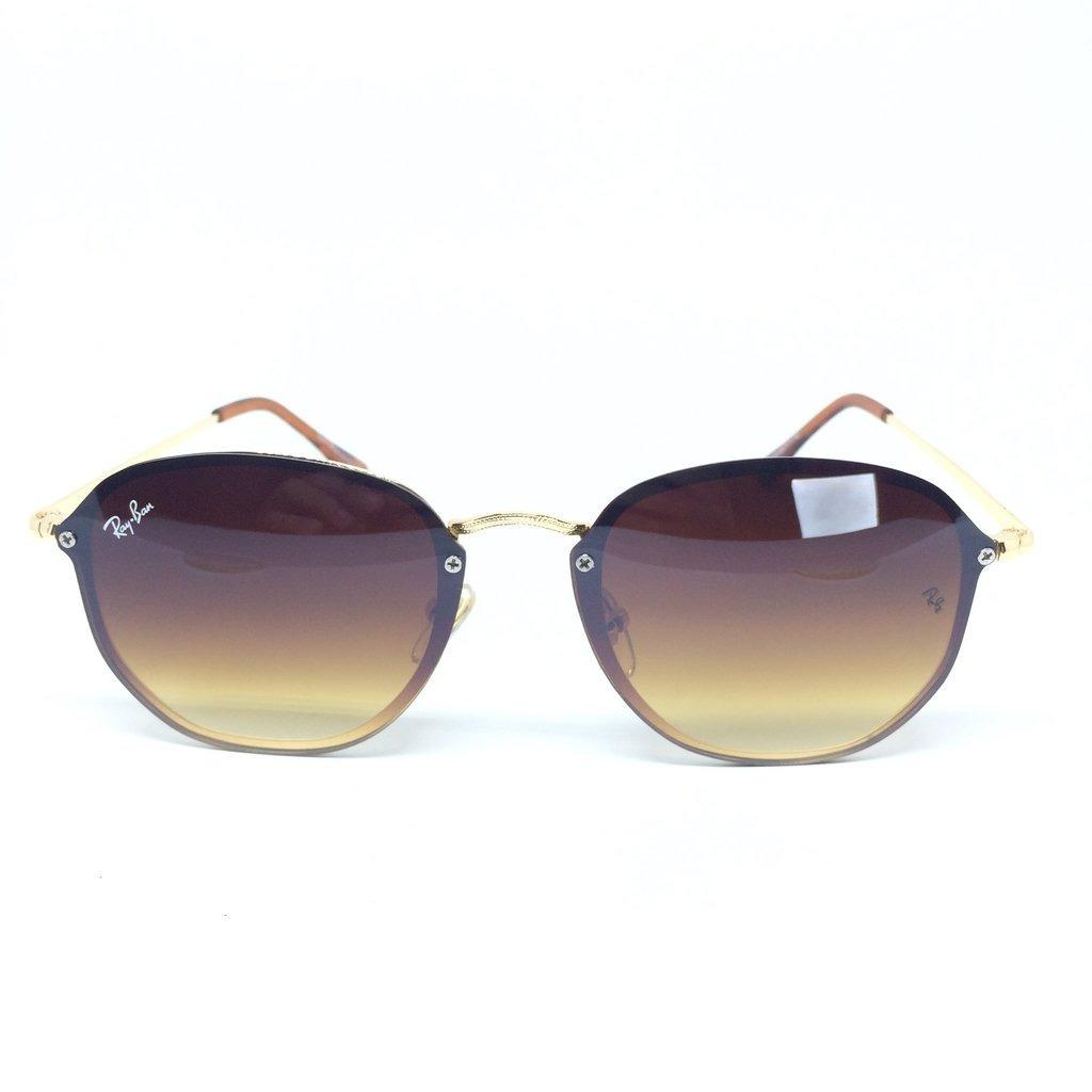 óculos de sol rayban hexagonal blaze rb3579 marrom original. Carregando  zoom. 361bac10d0