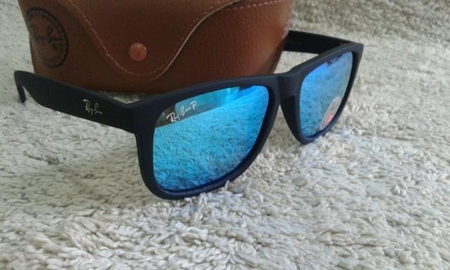 8789d1f07 ... order oculos de sol rayban justin azul espelhado polarizado rb4165  8740c 602b2