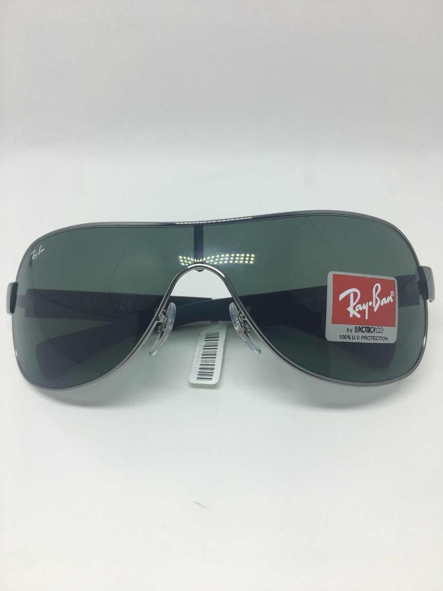 92098c828615e Óculos De Sol Rayban Máscara Rb 3471 004 171 130 3n - R  399,99 em ...