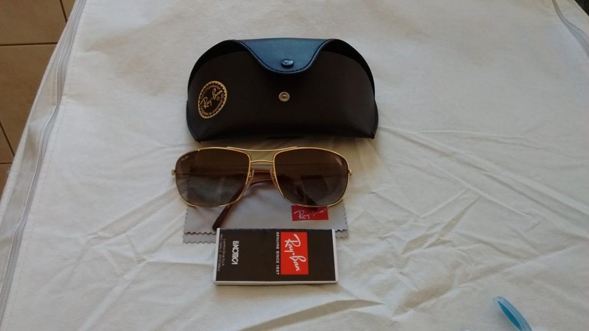 d2d65f07fbf7e Oculos De Sol Rayban Novo Original - R  500,00 em Mercado Livre