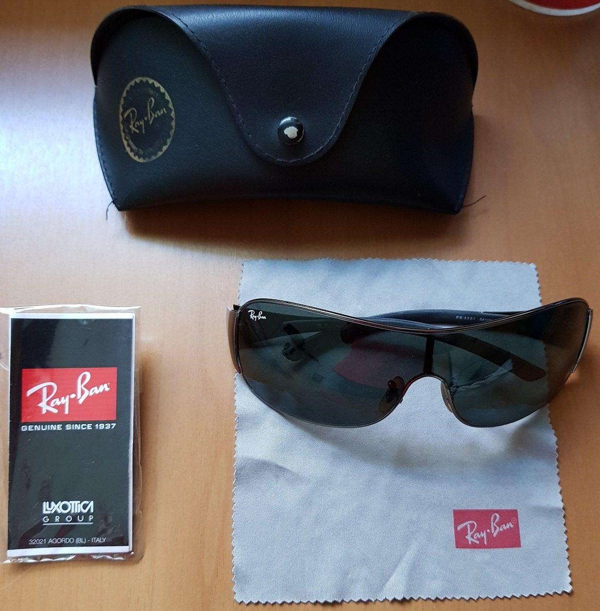 9a951dda813eb Óculos De Sol Rayban Original Na Caixa - Modelo Aviador - R  200