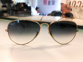 59678ce47 Ray Ban 58014 Aviator Large Metal De Sol - Óculos no Mercado Livre Brasil