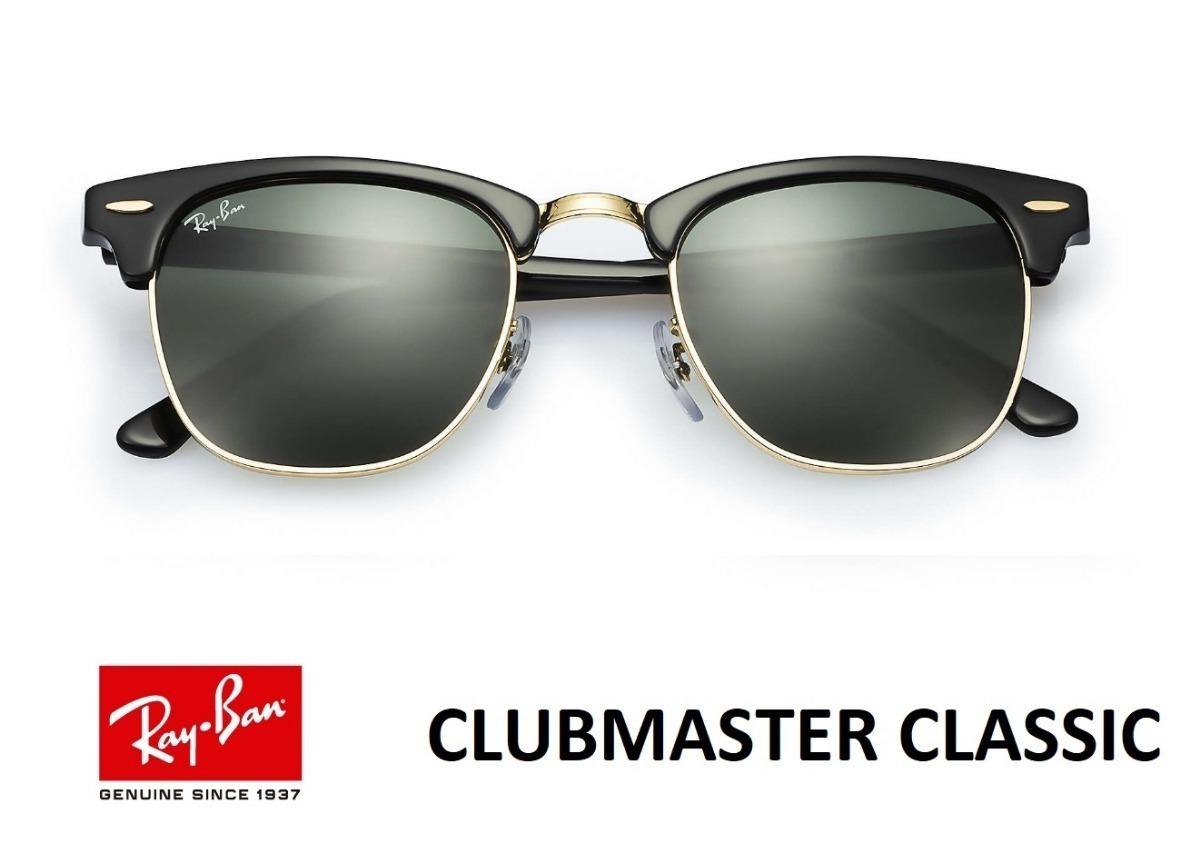 d6be4e98a7c6c Oculos De Sol Rb3016 Clubmaster Masculino Feminino - R  349,00 em ...