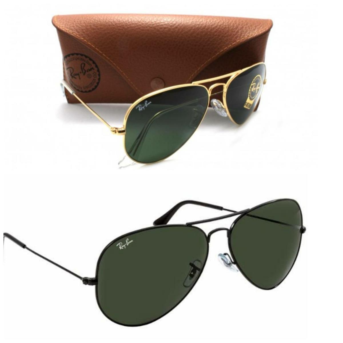 67a5ba448ee05 oculos de sol rb3025 aviador ray-ban kit masculino feminino. Carregando zoom .