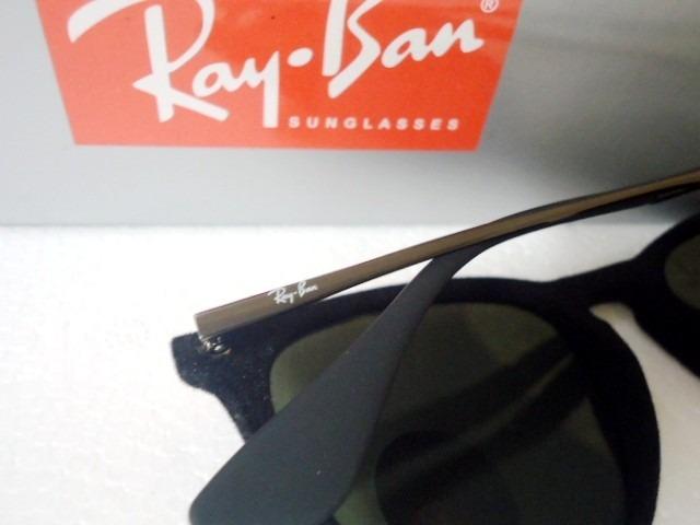 Oculos De Sol Rb4171 Erika Preto Velvet Veludo Ray-ban - R  119,00 ... 4624b6e41a