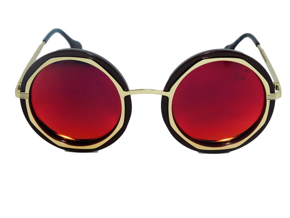 e16fba50c9d90 Óculos De Sol Redondo 16222 - R  207,90 em Mercado Livre