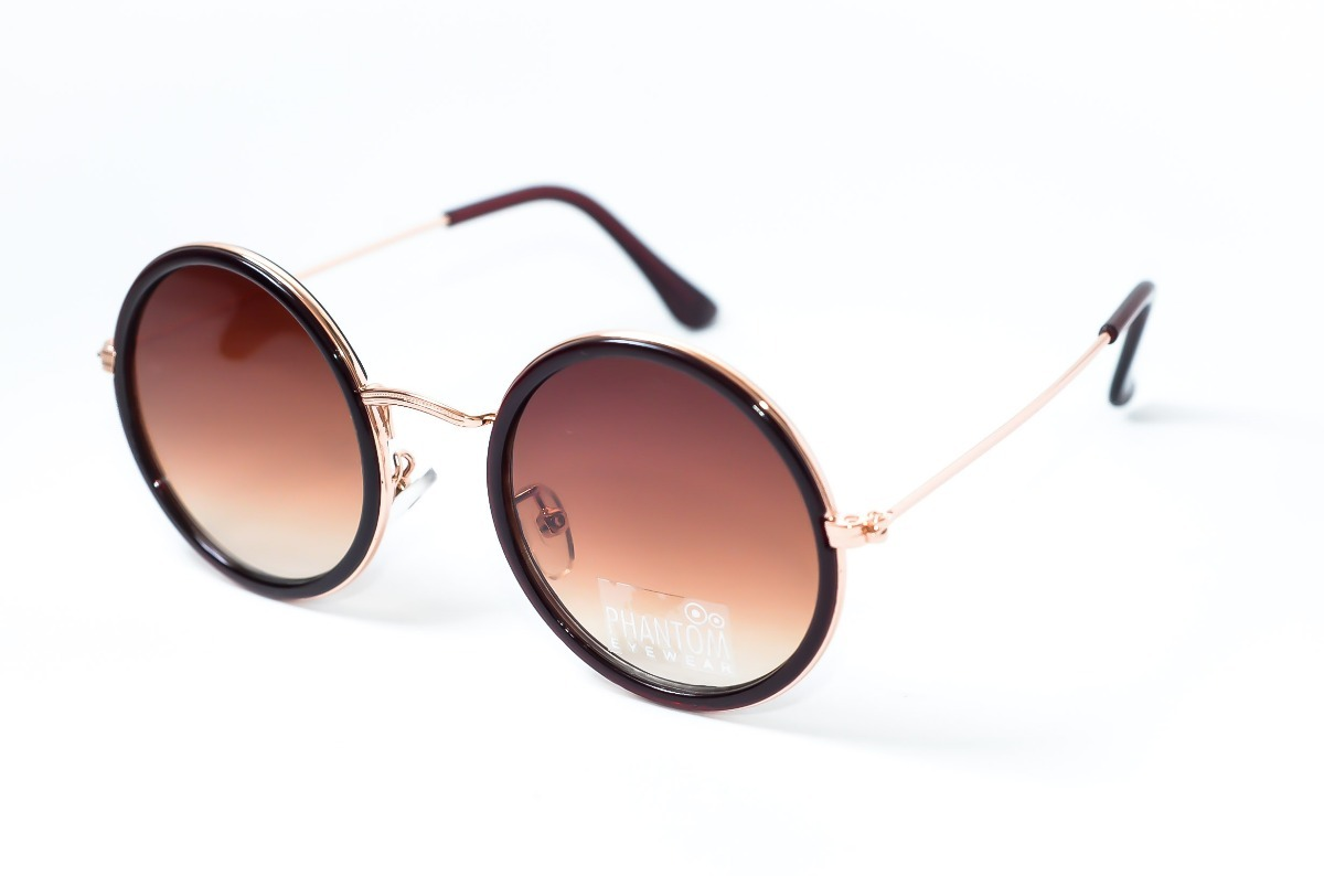 790556eba155c Óculos De Sol Redondo Da Moda Outono Inverno 2018 Grande - R  89