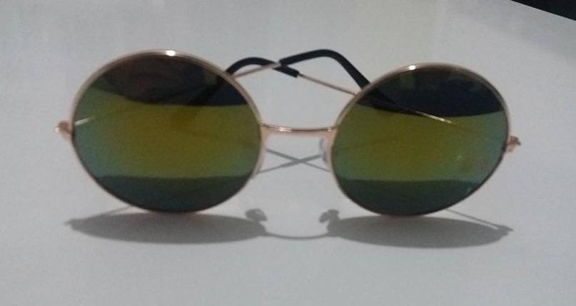 f52092ff6 óculos de sol redondo estilo circulo modelo ozzy john lennon. Carregando  zoom.