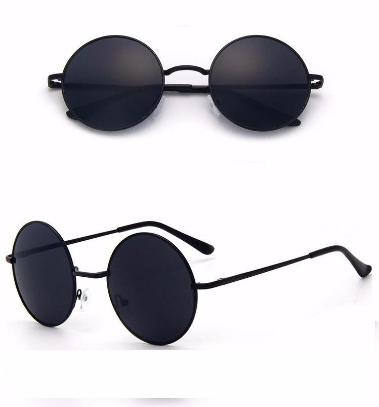 a0f8fa0f7b4f5 óculos de sol redondo estilo ozzy e lennon lentes polarizado. Carregando  zoom.