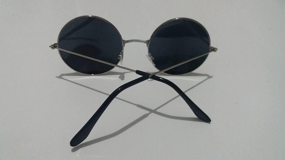 04f43c75f6df6 Óculos De Sol Redondo Estilo Ozzy John Lennon - R  27,99 em Mercado ...