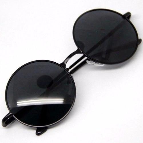 Óculos De Sol Redondo Estilo Ozzy John Lennon - R  29,45 em Mercado ... aa2365bfaf