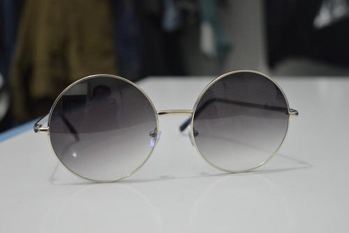 óculos de sol redondo grande - janis joplin