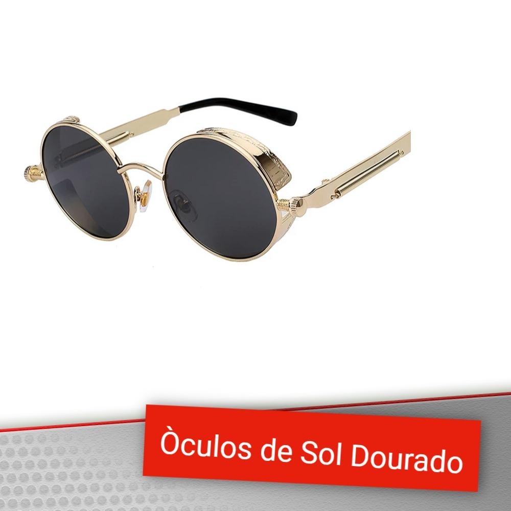óculos de sol redondo haste mola vintage gotico retro lennon. Carregando  zoom. 0b93248985