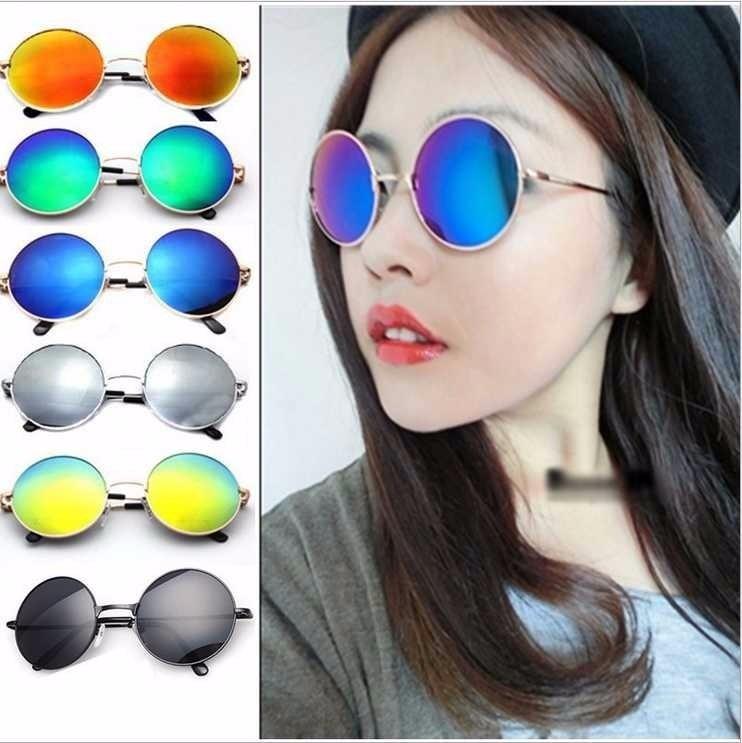 Óculos De Sol Redondo Masculino   Feminino 5 Unidades - R  122,96 em  Mercado Livre 84136f5529
