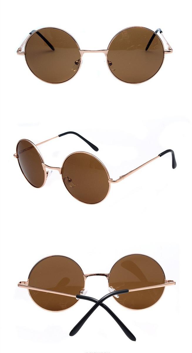 Óculos De Sol Redondo Masculino Feminino Espelhado - R  29,95 em ... 0f3cd3cc01