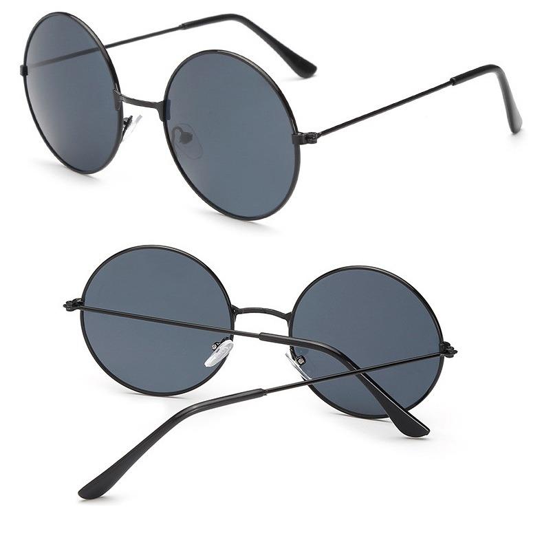 500f94d6f óculos de sol redondo masculino feminino estilo ozzy e lenon. Carregando  zoom.
