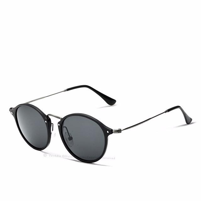 d353c164b90a3 Óculos De Sol Redondo Masculino Feminino Polarizado Veithdia - R  149