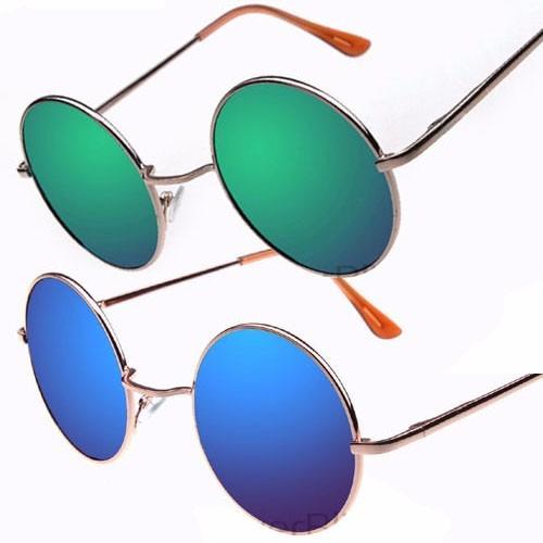 Óculos De Sol Redondo Masculino - Feminino - Várias Cores - R  29,45 ... f081c7e752