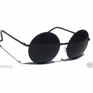 badc42f36d172 óculos de sol redondo masculino john lennon preto