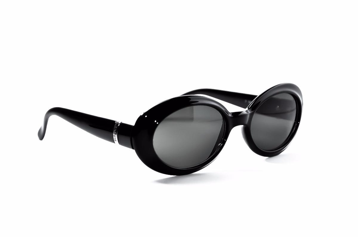 Óculos De Sol Redondo Oval Retro Pinup Kurt Black Anos 90 - R  49,00 ... 9d8a942c35