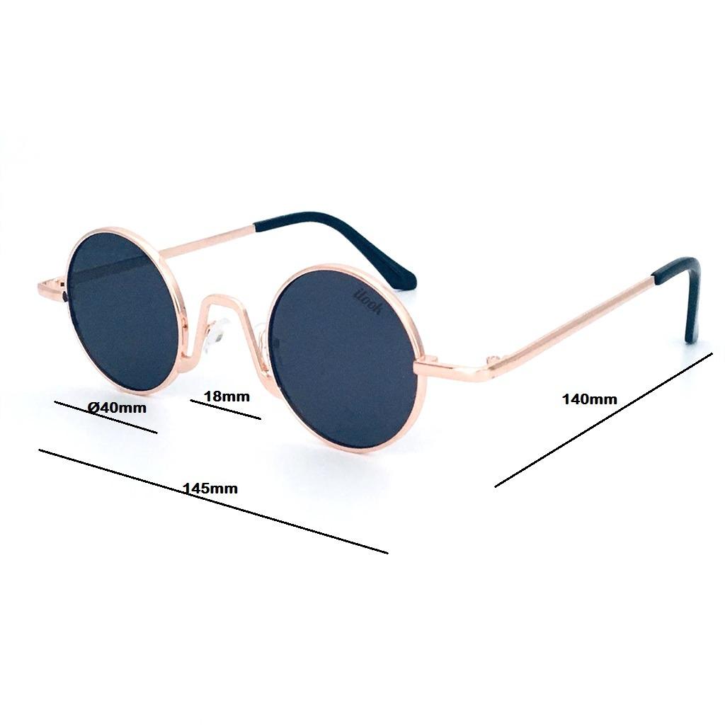 c81fd0624 óculos de sol redondo pequeno colorido retro proteção uv400. Carregando zoom .