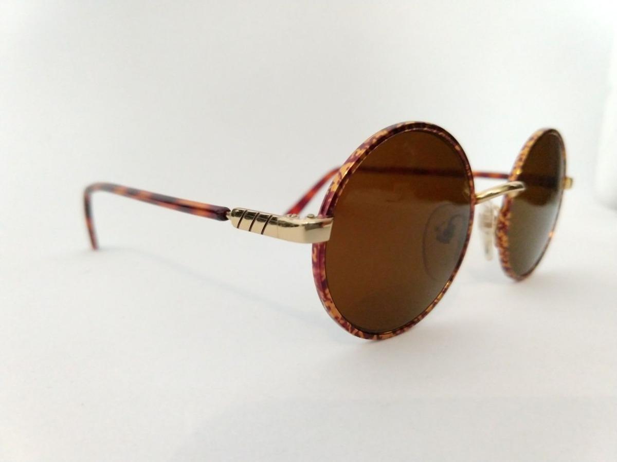 óculos de sol redondo pequeno retrô modelo john lennon. Carregando zoom. f83ab07398