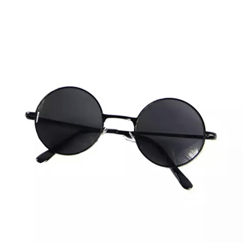 524d14e1aaa4f Óculos De Sol Redondo Preto Lennon Frete Bem Em Conta Lindo - R  38 ...