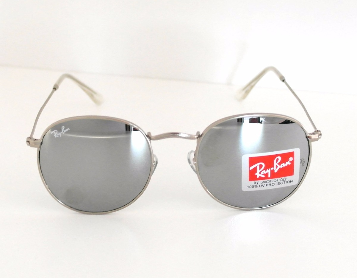 ae0fd76e13a6a óculos de sol redondo retrô round feminino + case + brinde. Carregando zoom.