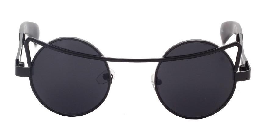 óculos de sol redondo retrô vintage circular alta qualidade. Carregando  zoom. e0a81ec25c