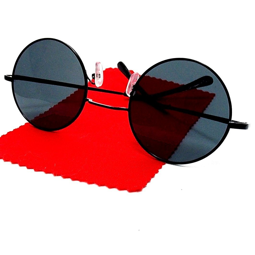 óculos de sol redondo retro ozzy, john lennon, raul 5.2 cm. Carregando zoom. 76d75ee4b4