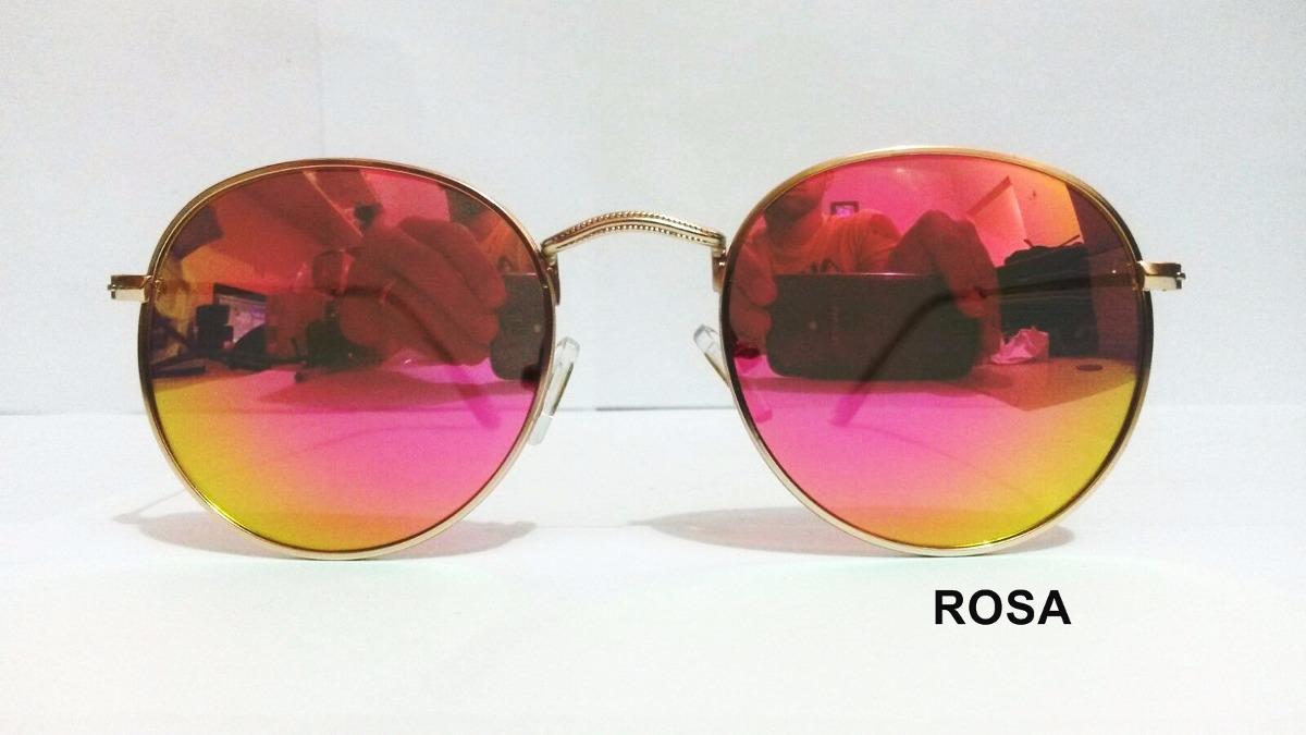 oculos de sol redondo round john lennon espelhado preto. Carregando zoom. 7d4e02af6c