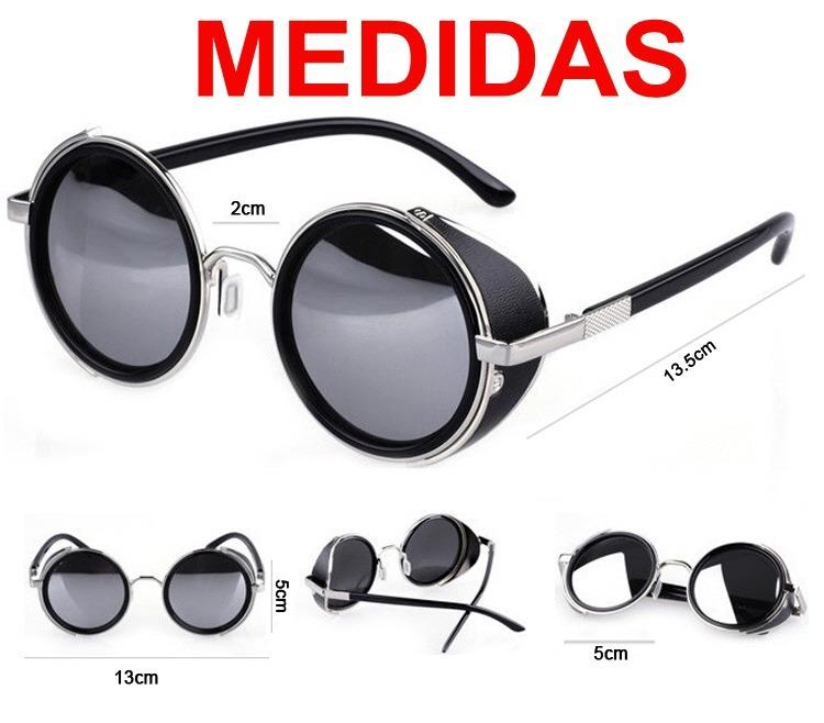 Óculos De Sol Redondos Blinder Retrô Vintage Lennon Ozzy - R  66,90 ... aea0a012eb