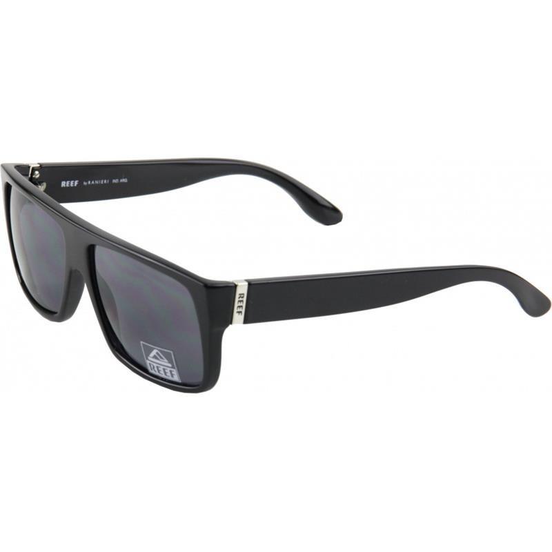 c18a1a3cf68f4 Óculos De Sol Reef Punta Negra Shiny Black - R  369