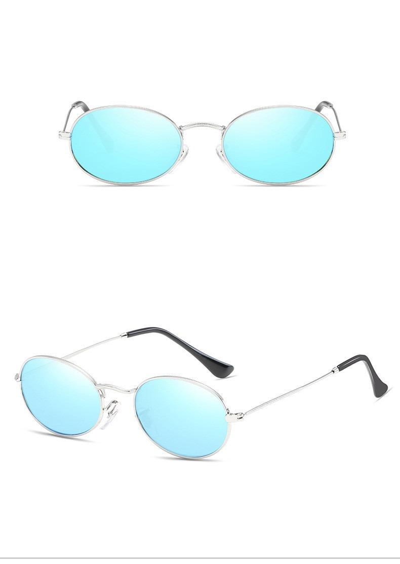 Óculos De Sol Retrô Glamour Modelo Oval Lente Pequena Uv400 - R  120,00 em  Mercado Livre 518d3d31e1