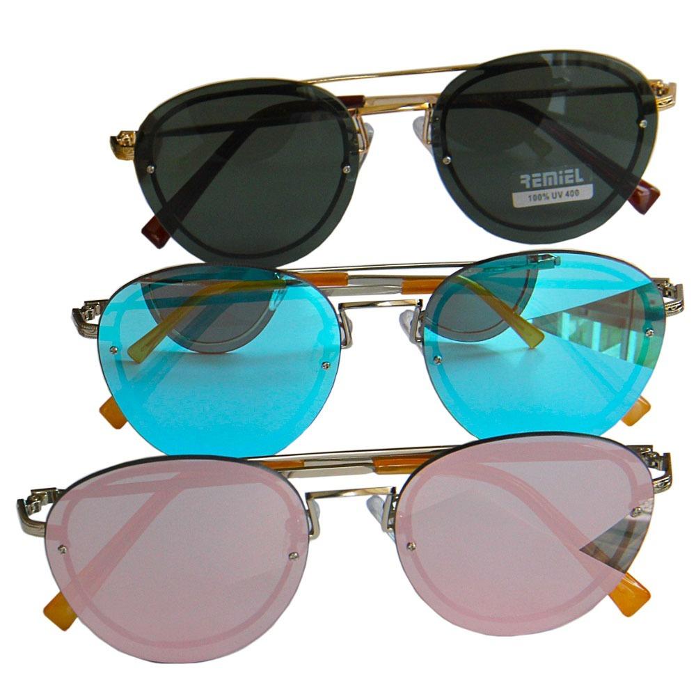 81dbb96868579 Oculos De Sol Retro Original Remiel Com Proteção Uv 400 - R  88,20 ...