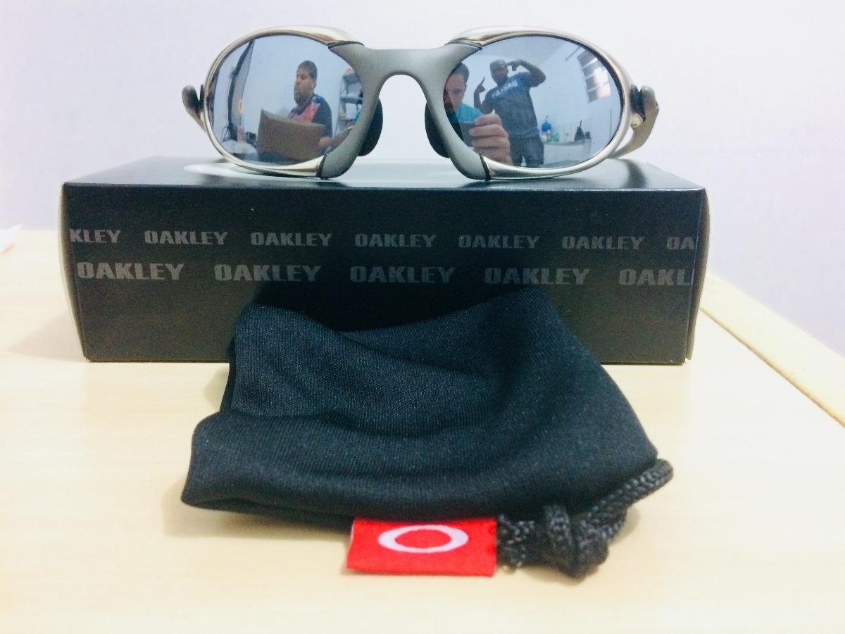 c850cf484d09f Oculos De Sol Romeu 1 Tio 2 Cinza+lente Azul Mega Oferta - R  120,00 ...