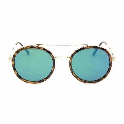 4c8df5025 Óculos De Sol Rosé Tigrado Com Lente Espelhada - R$ 114,17 em ...