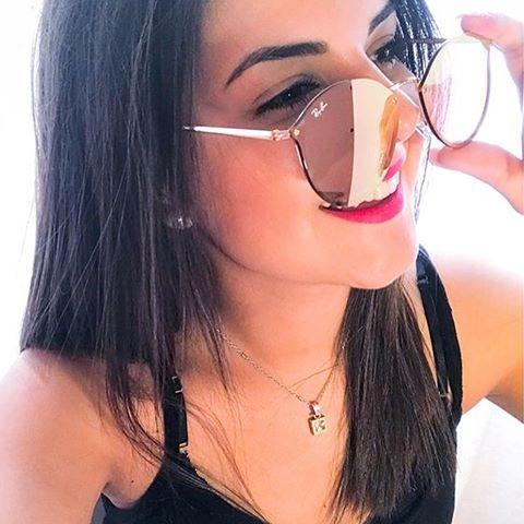 Oculos De Sol Round Blaze Rosa Espelhado Verão 2018 Rb3574 - R  89 ... 20348e33aa