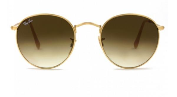 Oculos De Sol Round Marrom Degrade Oculos Retrô Redondinho - R  89 ... de36a87166