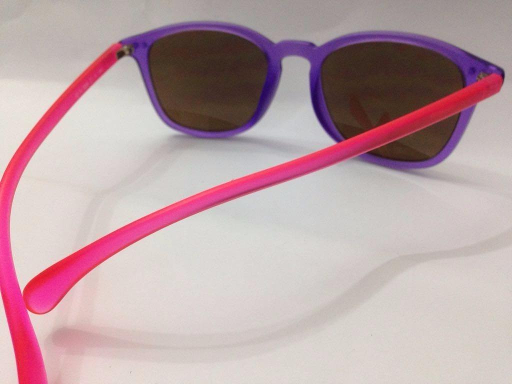 Óculos De Sol Roxo E Rosa Fosco Da Fotótica - R  50,00 em Mercado Livre bbdb48aa34